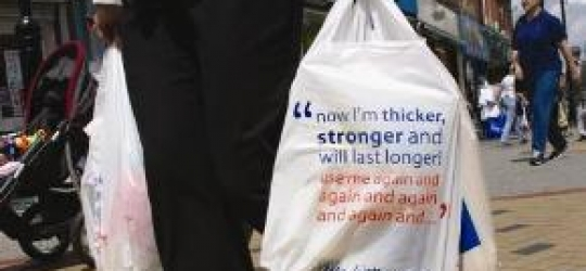 Plastic bag ban in Wales