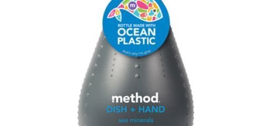 Ocean Plastic Recycled into Soap Bottles