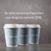 UK supermarket to eliminate all to-go coffee cups from stores
