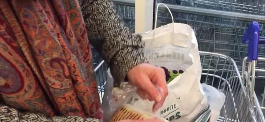 'Plastic attack' protest staged at Tesco – UK