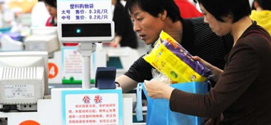China's Plastic Bag Ban Makes Slow Progress