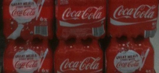 Bottleneck for Coke bottles